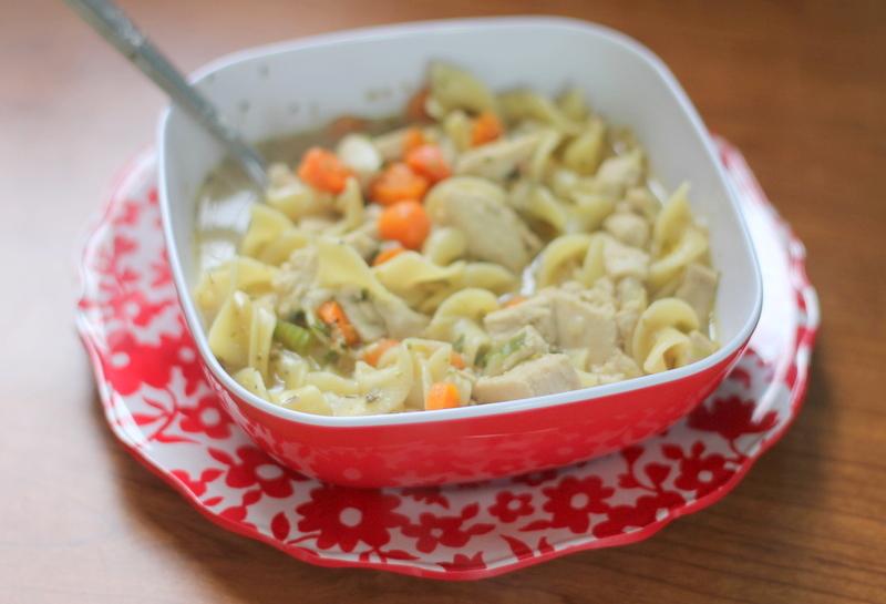 "Recipe - Vegan ""chicken"" noodle soup. | The Dainty Squid"