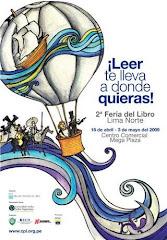 2º Feria Libro LIMA NORTE 16 abril al 3 mayo 2009