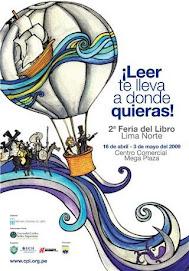 2º Feria Libro Lima Norte 16 de abril al 3 de mayo 2009
