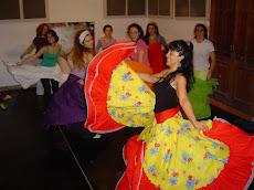 imágenes primer seminario intensivo Danzas Afro colombianas en Buenos Aires