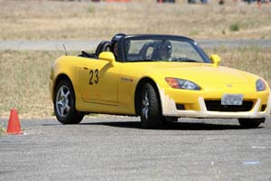 Alex Maier runs AS23 at PCA autocross