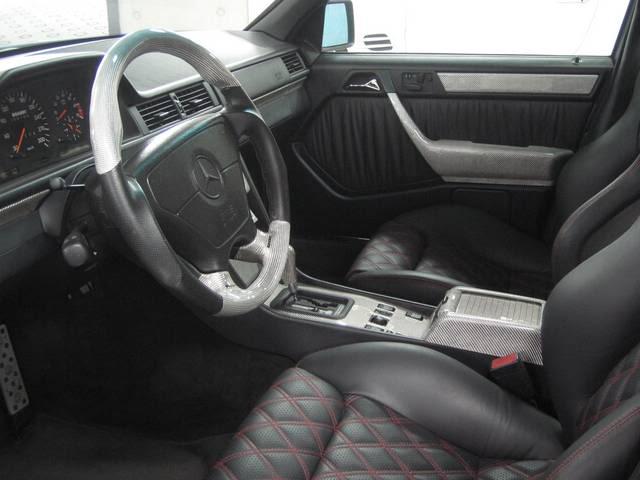 mercedes w124 e500 6.0 brabus interior