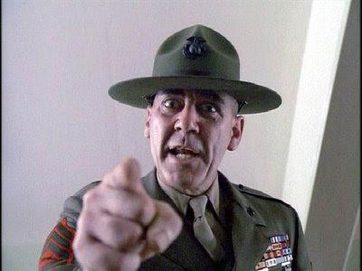 R Lee Ermey Full Metal Jacket Yelling Lee Ermey Yelling Imag...
