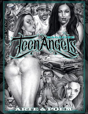 THE ORIGINAL TEEN ANGELS MAGAZINE,CREATED BY TEEN ANGEL,A LEGENDARY ARTIST ...