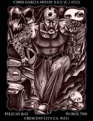Teen Angels Magazine Tattoo Art Lowrider Chicano Mexican Aztec Flash ...