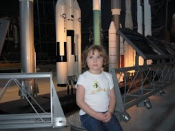 Sophia at the Air & Space Museum
