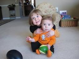 Sophia & Tyler - Halloween 2008
