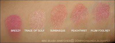 Mac peachtwist vs sunbasque