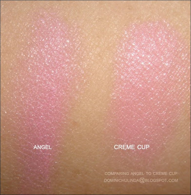 Gallery For > Mac Lipstick Creme Cup Vs Angel