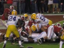 AL VS LSU: 2009