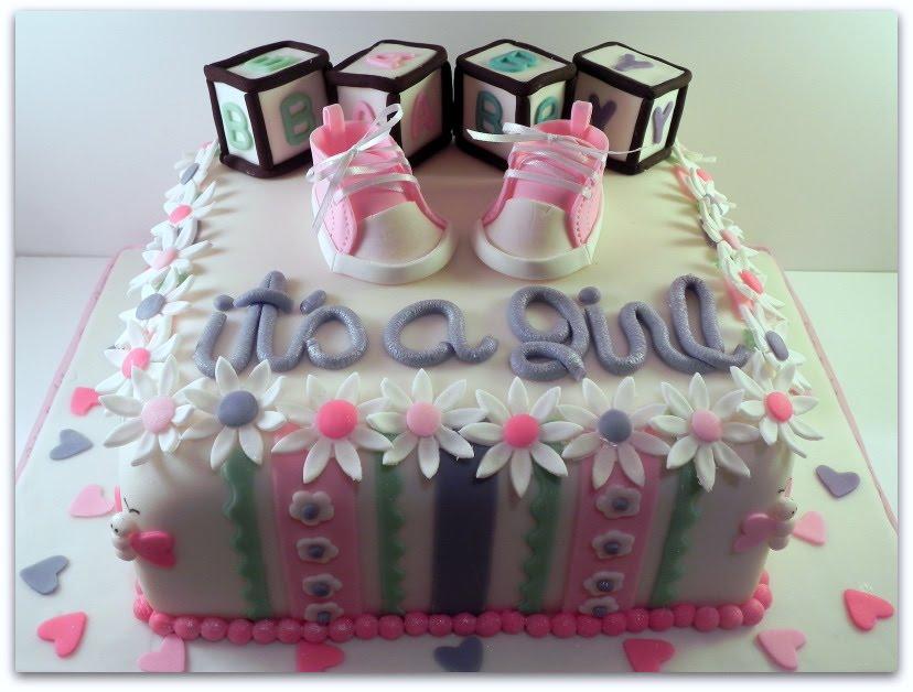 The Cake Princess Summer Baby Shower Cake