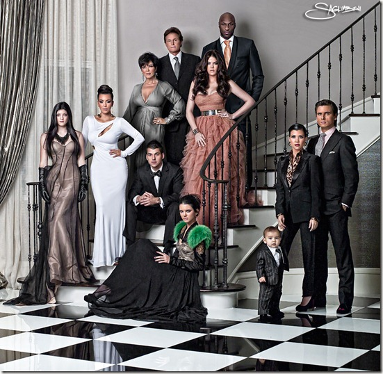 kardashian christmas card. The Kardashian#39;s Christmas