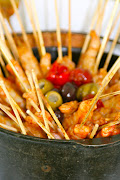 Jumbo Shrimp Skewers