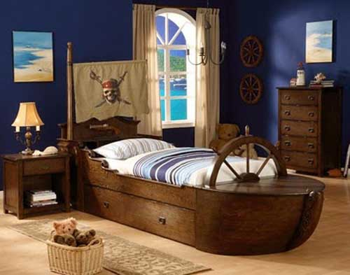 Creative Childrenu0027s Furniture   Bed In The Form Of A Ship.
