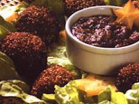 Bolinho de Quinua e Soja (vegana)