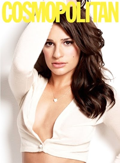 lea michele cosmopolitan photos. Lea Michele covers