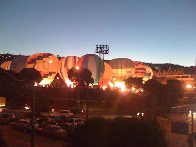 hot air balloon festival wellington basin reserve