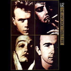 unforgettable fire cover single U2