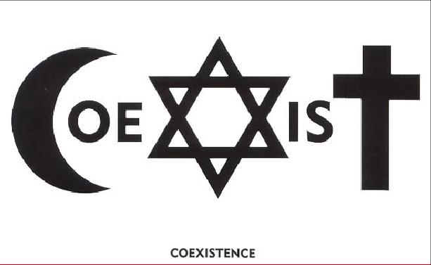 u2 coexist logo