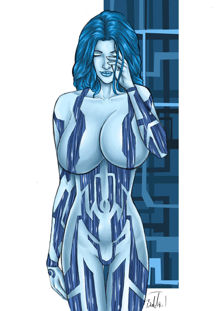 Cortana s boobs porno nude photo