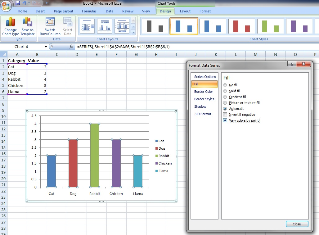 Bens Blog Multicoloured Column Charts In Ssrs 2008