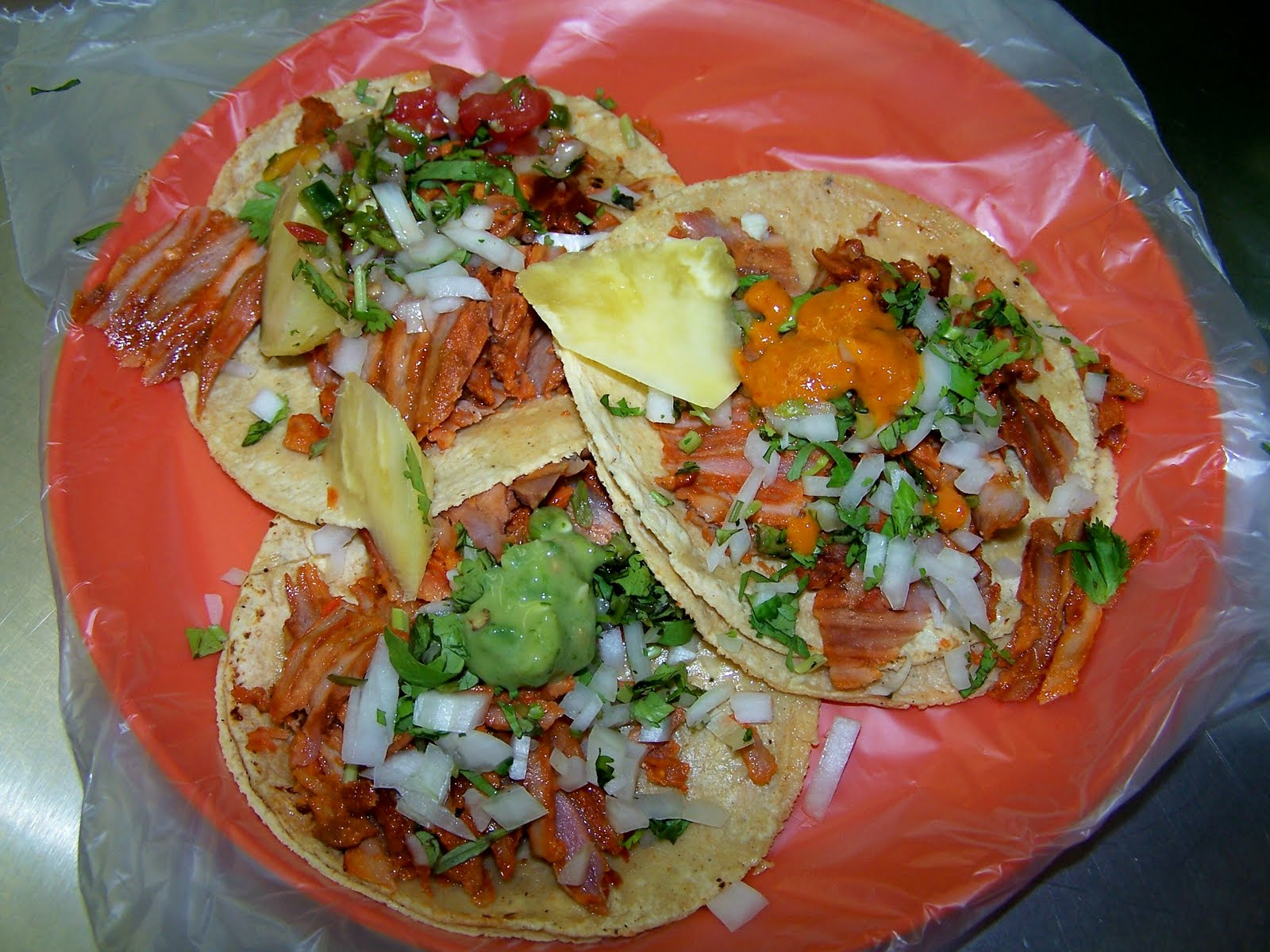 Hornbrooks in Mexico City: Tacos al Pastor