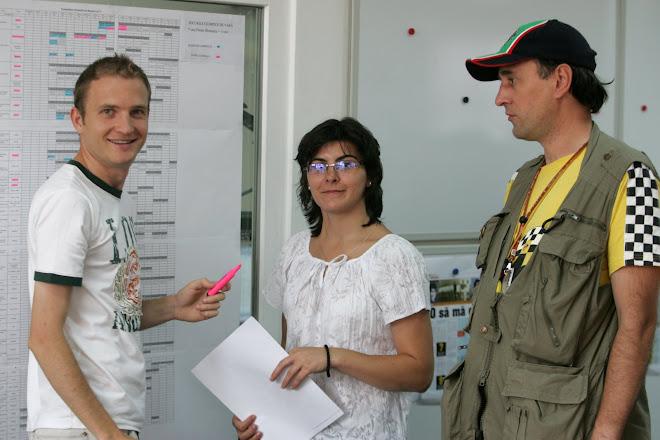 In redactia ProSport, alaturi de Vali Lupu si Mirela Basescu