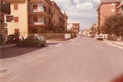 viale aldo moro negli anni ottanta