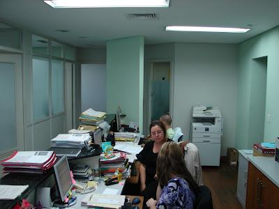 Imagem da sala antes da reforma
