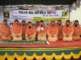 Pekan maulid PKS Kab Tangerang