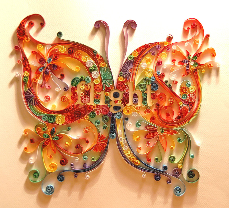 beautiful quilling patterns