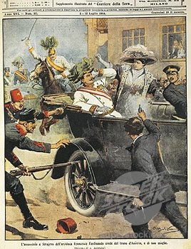 an analysis of the assassination of archduke francis ferdinand triggered world war i The assassination of franz ferdinand was the unlikely catalyst of the first world war, kicking off many declarations of war  although the archduke and his wife .