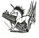 Cavalo em nanquim - Wal