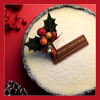 christmas cake photo background