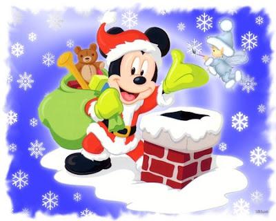 Disney Cartoon Christmas Backgrounds