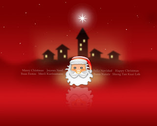 Santa Claus Background