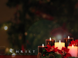 Christmas Candle Free Twitter Backgrounds