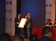 Ministro de Cultura, Mateo Morrison y el señor Corripio
