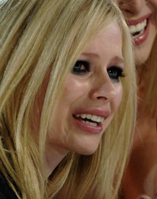 "--Semi-formulaically edgy pop ""rocker"" Avril Lavigne on"