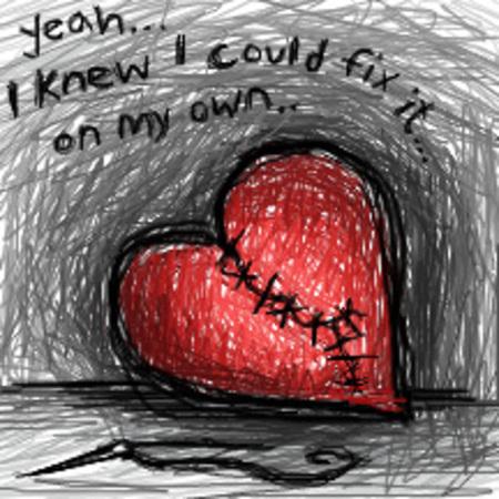 broken hearted. quotes for a roken heart.