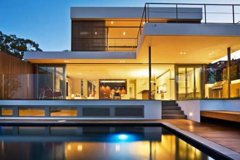 Modern House Design on The Trend In Designing Homes These Days Seems To Be Excessive Usage Of