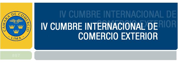 IV Cumbre Internacional de Comercio Exterior