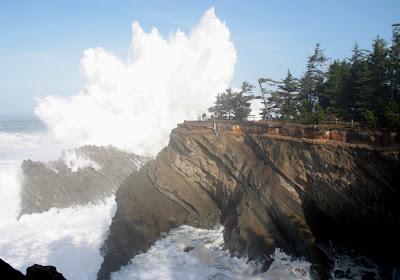Shore Acres State Park Waves Shore Acres Wave Justice