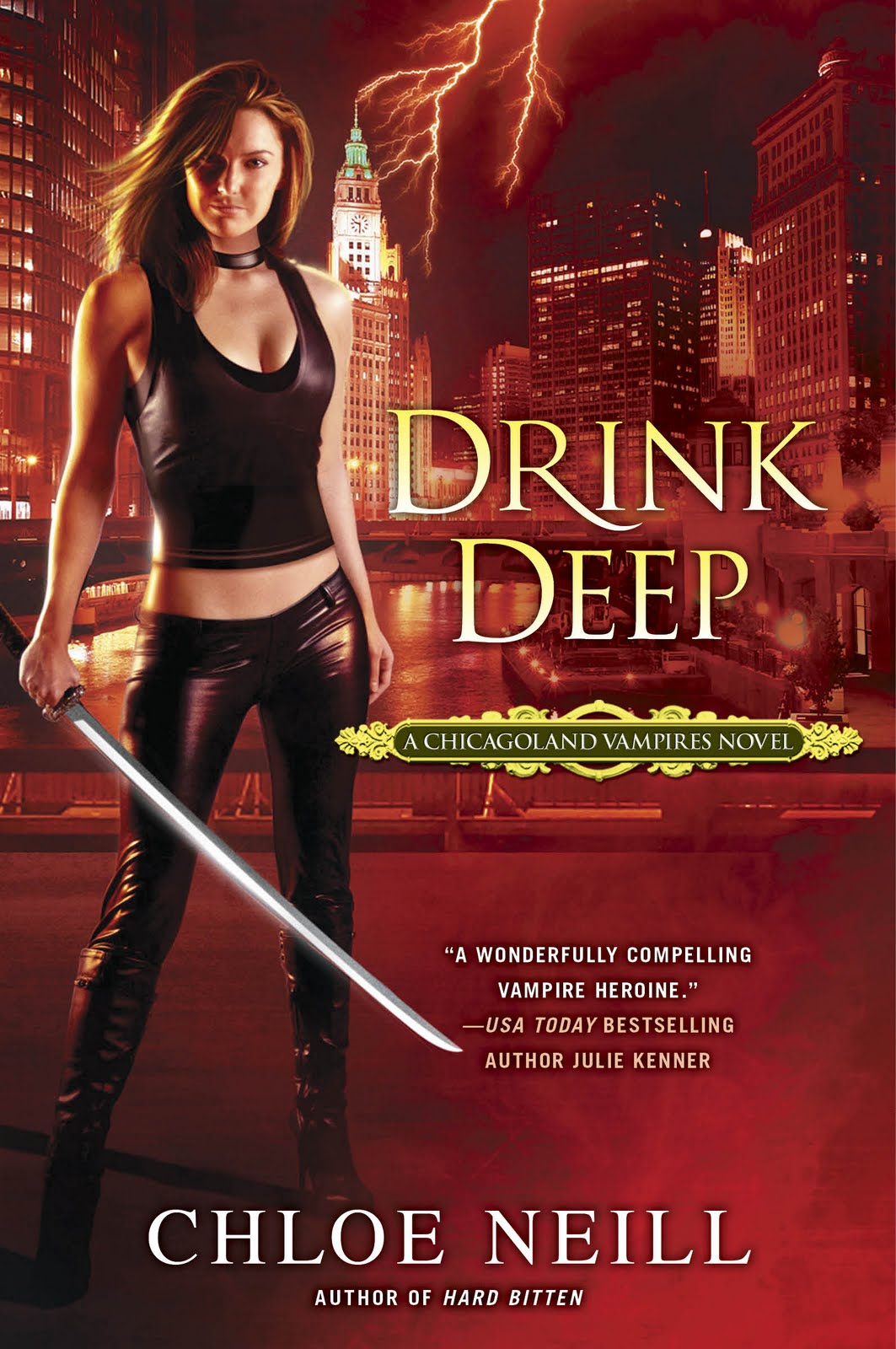 Cover Art: Drink Deep (chicagoland Vampires, #5) By Chloe Neill