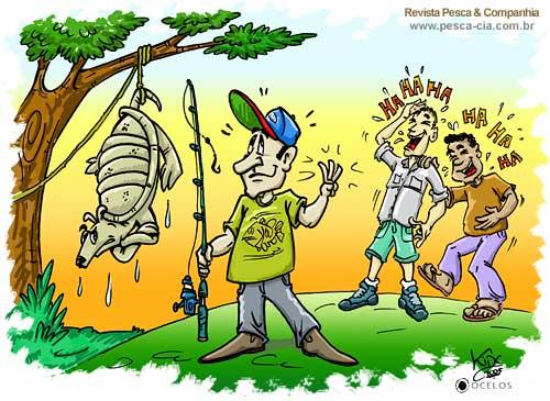 Resultado de imagem para piadas pescador