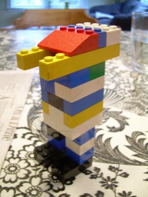 Simple lego robot