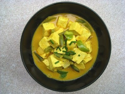 Show Me Vegan: Panang Tofu Curry