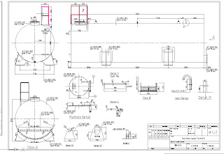 technical drawing asphalt mixing plant