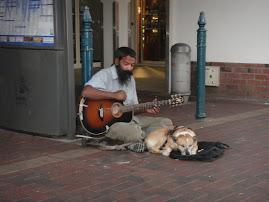 Mein Freund der Strassenmusikant