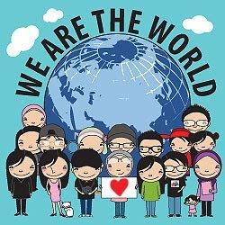we are world: